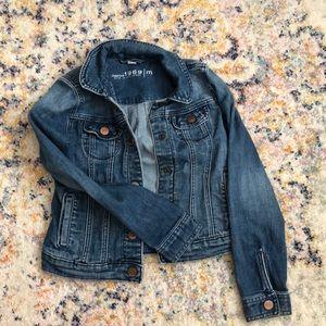 Gap kids denim jacket size medium